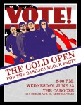 The-Cold-Open-Cabooze-Poster